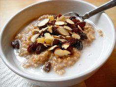 Indian Spiced Oats with Coconut Milk