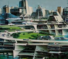 Cities of the Future, Imagined By The Artist Who Created The Death Star