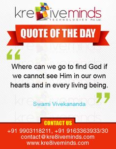 Quote of the Day http://www.kre8iveminds.com/