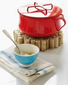 Bottle Cork Trivet // @Sweet Paul Magazine