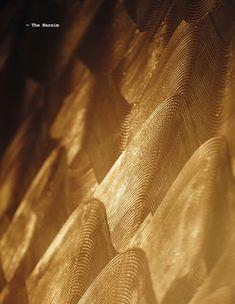 Krieit Associates | Bespoke Interiors Brass Texture, Tiles Texture, Mood Images, Tea Brands, Wall Treatments, Four Seasons, Textures Patterns, Wall Design, Interior And Exterior