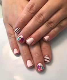 Trendy Nail Designs for Summer that brighten up your look 67 Fancy Nails, Love Nails, Trendy Nails, Fingernail Designs, Cool Nail Designs, Nail Art Diy, Diy Nails, Nails Inspiration, Beauty Nails