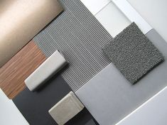 Material moodboard by VOID Colour Pallete, Colour Schemes, Moodboard Interior, Material Board, Interior Design Boards, Mood And Tone, Mood Colors, Interior Concept, Theme Color