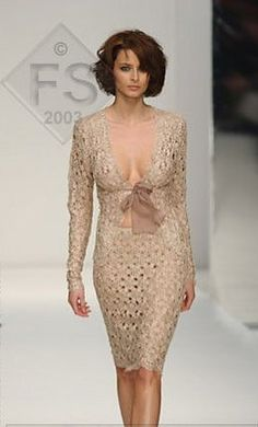 idea for order lace dress, very sexy)  knee length, long sleeves, deep plunge, without lining or underslip  I need your size for making dress and time
