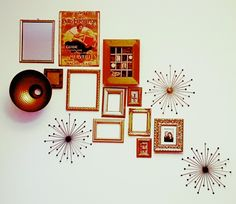 Living room wall decoration