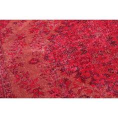 rood-vloerkleed