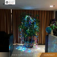 led christmas decorative tree branchlights Holiday party wedding christmas decorations