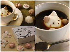 Japan - It's A Wonderful Rife: Japan's Cat-Shaped Marshmallows