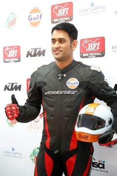 MS Dhoni Geared Up For the Bike Festival of India http://actfaqs.com/MS-Dhoni-brings-Bike-Festival-of-India-to-an-exciting-finish