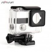 SOONSUN Waterproof Camera Housing Case protective Housing for Hero 3 Camera with Lens and waterproof Deep)-clear Gopro Hero 3, Waterproof Camera, Underwater Photography, Protective Cases, Lens, Diving, Ebay, Electronics, Cover