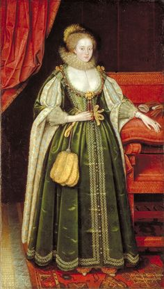 1618 Isabella Clara Eugenia Infanta of Spain and Governess of The Low Countries by Marcus Geeraerts the Younger (Ferens Art Gallery - Kingston upon Hull, Yorkshire UK).jpg