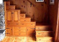 Awesome stairway storage...  photo from David Rockerchild (Facebook)....  WOW!!!