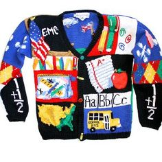Not really; but I'm thinking about getting one of these ugly sweaters. I've been teaching long enough; I deserve it.