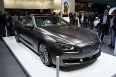 BMW 6 Series Gran Coupe - i saw this car in the Brussels airport the other day, after seeing three matte cars within the span of one week - matte paint is in