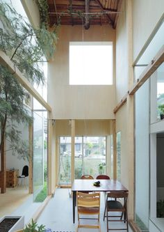 Home Remodel Fixer Upper House Komazawa Park / miCo.Home Remodel Fixer Upper House Komazawa Park / miCo. Interior Exterior, Interior Architecture, Tokyo Architecture, Modern Japanese Architecture, Japanese House, Simple House, Interior Inspiration, Design Inspiration, Design Ideas