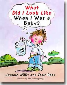 what did i look like when i was a baby book