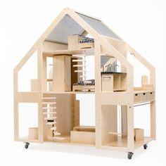 mamãe sabe tudo: fofices do design: poppenvilla dollhouse