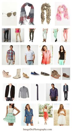 Fashion // What to wear for your senior pictures  Great post complete with links to where to shop to get the full look for guys and girls 2014 High School Senior Portraits