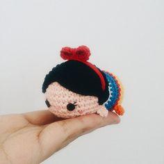 Snow white tsum-tsum @sarahholland