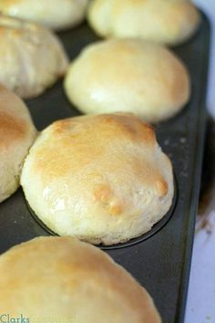 Quick dinner rolls sweetened with honey (less than an hour!) They can easily be made gluten free as well.