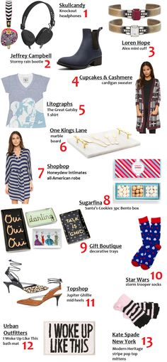Oh to Be a Muse   Bay Area Fashion Blogger Inspiring Style: Season's Greetings: 2015 Holiday Gift Guide