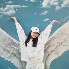 Siyeon Ulzzang Couple, Ulzzang Girl, Korean Girl, Asian Girl, Cosmic Girl, Lee Hi, Kim Min Ji, Blue Aesthetic, Seulgi