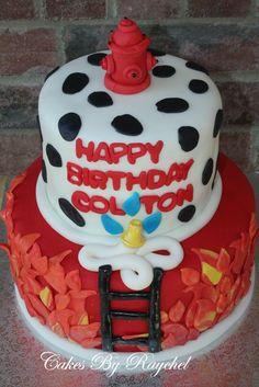 How+to+Make+Fireman+Cake   Fireman Cake for a High School Friend's Son!