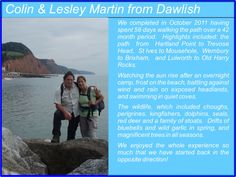Colin and Lesley Martin - South West Coast Path Completers