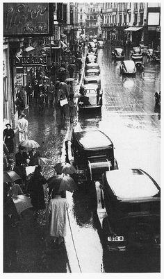 Bucuresti,Calea Victoriei anii  1930