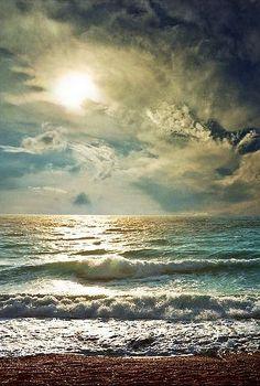 Otra vez en el mar...