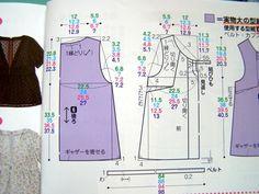 Daum 블로그 Japanese Sewing Patterns, Mccalls Sewing Patterns, Blouse Patterns, Clothing Patterns, Top Les, Princess Seam, Ladies Boutique, Maternity Dresses, Dressmaking