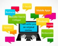 I will Write an original positive review of a product or service #Review #AppReview #Website