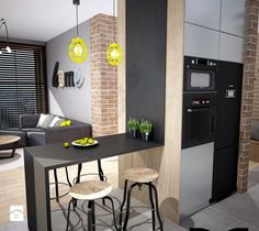 Jadalnia styl Industrialny - zdjęcie od Mart-Design Architektura Wnętrz