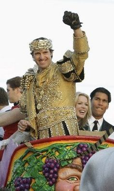 Drew Brees, Bacchus 2010, New Orleans, LA