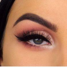 Lovely Eye Makeup For Girls Eye makeup Eye makeup tutorial Pink makeup Makeup Makeup videos Makeup tutorial - Lovely Eye Makeup For Girls - Rose Gold Makeup, Pink Makeup, Day Makeup, Girls Makeup, Makeup Inspo, Makeup Inspiration, Makeup Tips, Prom Eye Makeup, Learn Makeup