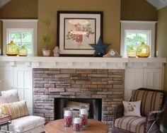 Craftsman Fireplace Design, Pictures, Remodel, Decor and Ideas