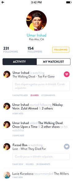 Profile-activity
