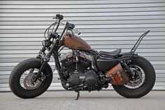 Customized Harley-Davidson Sportster by Ben Ott / customized by Thunderbike #harleydavidsonsporster