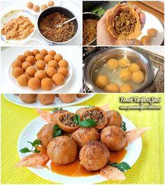 Tam Kıvamında İçli Köfte Tarifi Arabian Food, Fitness Tattoos, Homemade Beauty Products, Iftar, Health Fitness, Salsa, Wordpress Theme, Recipes, Magazine