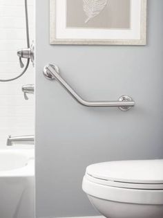 Grab Bar Installation Tips #aginginplace  Aging In Place Ideas Awesome Bathroom Safety Bars Inspiration Design