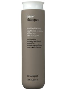 This Living Proof No Frizz Shampoo removes dirt and oil and smoothes hair without stripping....