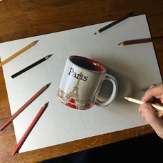 3D drawing of a coffee mug drawing video: https://youtu.be/3FriBEeZ1sw?list=PLEKv0jWmqLM3uGkCTtLBn6Gof2WRe6n7Y