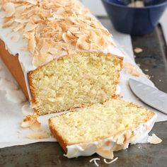 Coconut-Buttermilk Pound Cake by Tracey's Culinary Adventures...