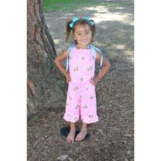 All Sizes Included: 6 months - 6 years    Are you ready to make some a quick and adorable romper for your little girl? Do you want her to have that boutique look when she gets dressed each day? Then this pattern is for you, even if you are a true beginner sewer!