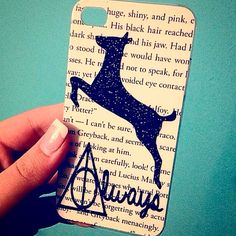 """HANDMADE Harry Potter Inspired """"Always"""" Case! . .  iPhone iPod Phone Android Samsung Galaxy Phone Cases MADE BY HAND  TheSorcerersPhone . .  FOLLOW @TheSorcerersPhone on Instagram!"""