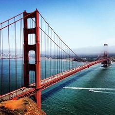 The Golden Gate Bridge provide endless photo opps to make your Instagram followers jealous.