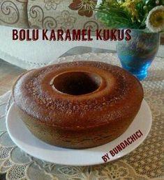 Bolu Karamel Kukus Pastry Recipes, Cake Recipes, Cooking Recipes, Bolu Cake, Resep Cake, Steamed Cake, Traditional Cakes, New Cake, Asian Desserts