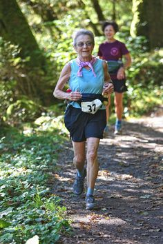 96-pound great grandmother at the starting line of an ultramarathon. At 77 years old, Macklow, of Bellingham, Washington, is one of only two...