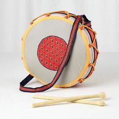 Plush Jamboree Drum (with Drumsticks) | The Land of nod