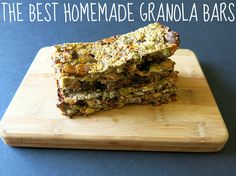 the best homemade granola bars | almost getting it together